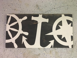 Nautical Wood Sign
