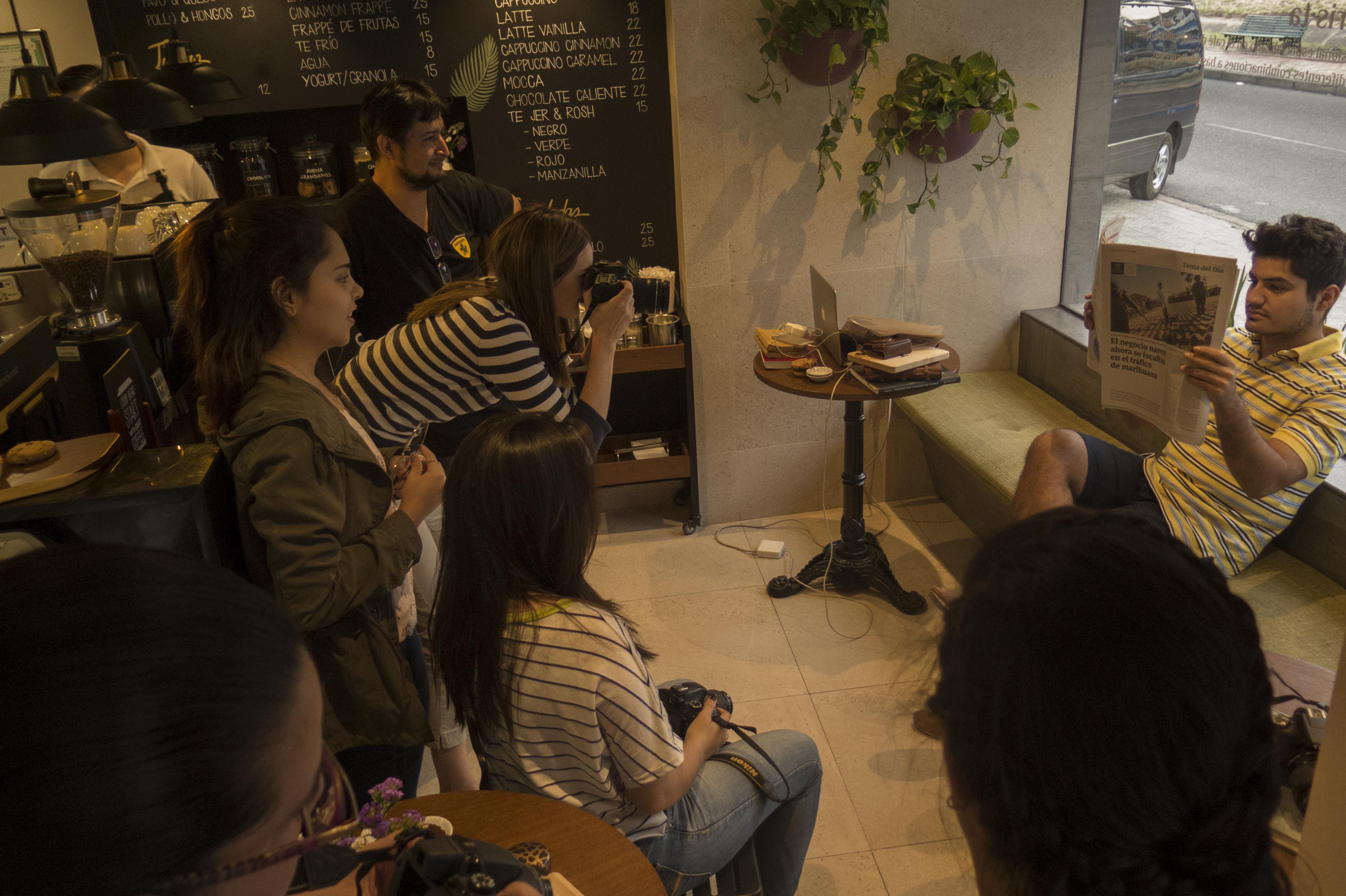 Práctica en cafetería Alemana