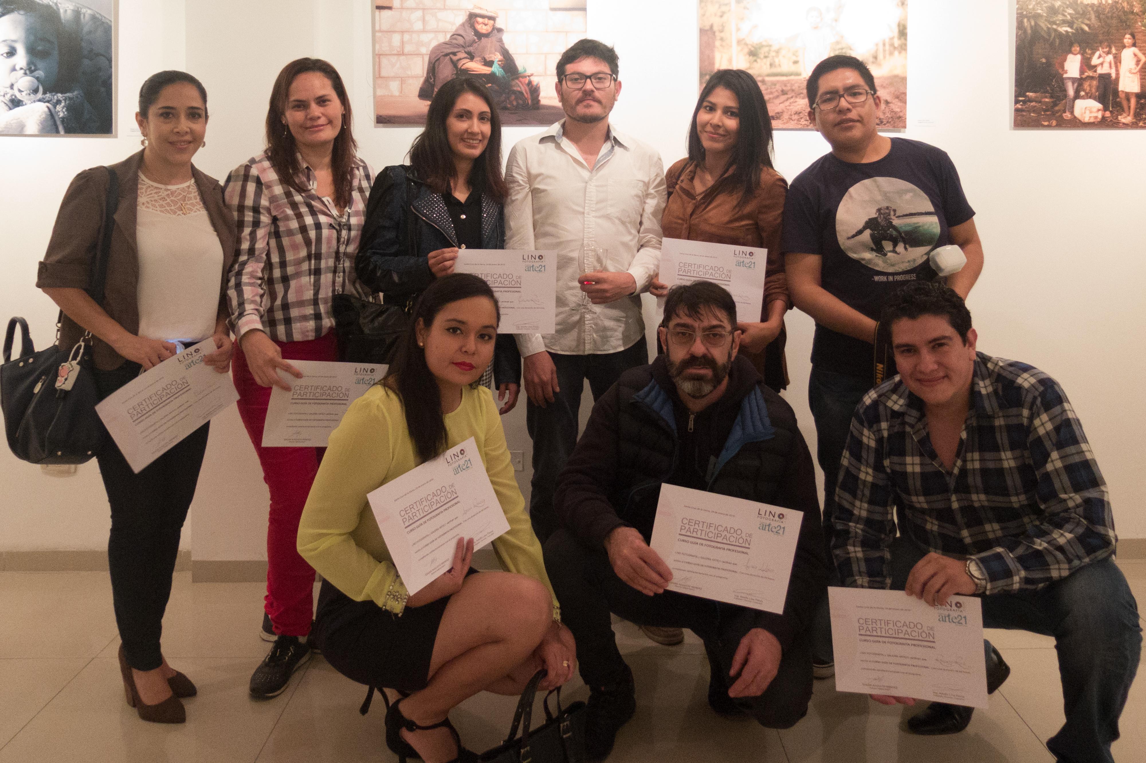 Inauguración exposición y entrega de certificados