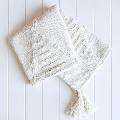 Robshaw Throw Blanket - Natural