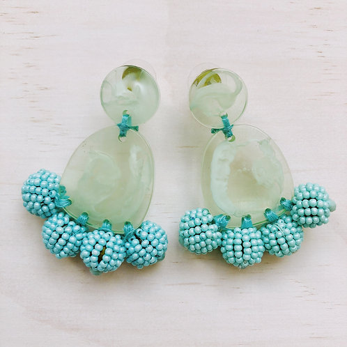 Candice Green EarringS