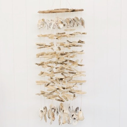 Driftwood & Shell Chandelier Chime