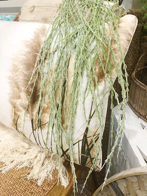 Faux Hanging Horsetail Plant