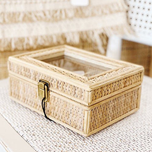 Rayna Rattan Jewellery Box