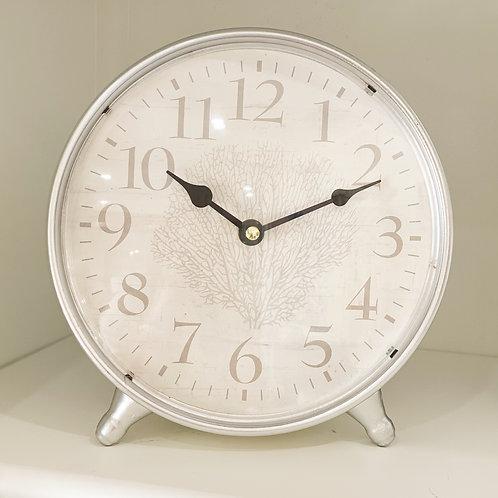 Fan Coral Table Clock