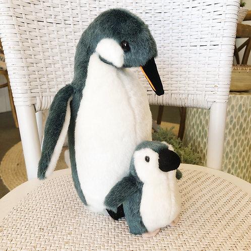 Plush Penguin Penny & Baby