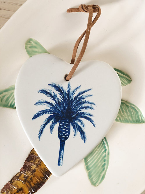 Date Palm Hanging Heart