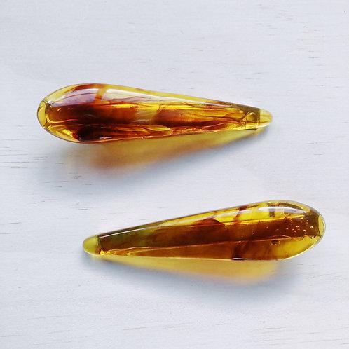 Amber Hair Clip