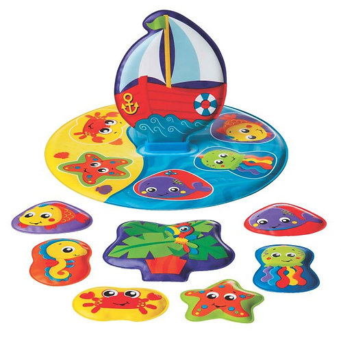 FloatyBoat Bath Puzzle