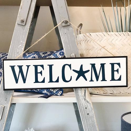 Welcome Starfish Sign