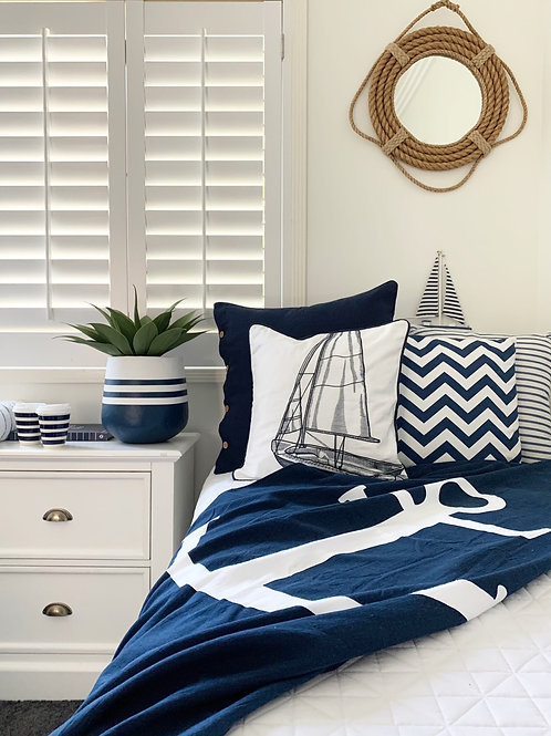 Anchor Parero Beach Towel or Throw