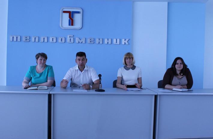 Отчетно-выборная конференция Комитета трудовой молодежи АО ПКО «Теплообменник»