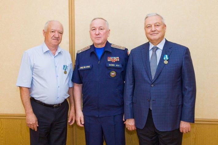 Вручены награды МЧС России