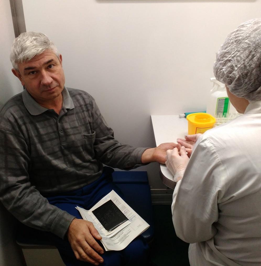 Предварительный анализ крови