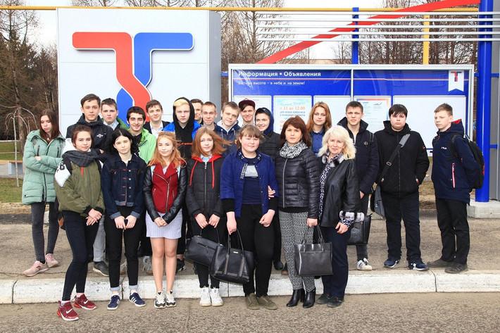 Школьники посетили АО  ПКО «Теплообменник»