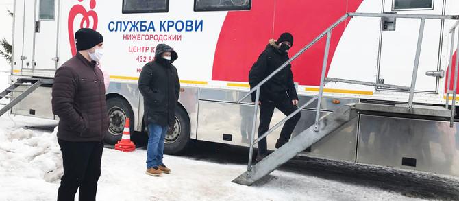 Сотрудники АО ПКО «Теплообменник» пополнили региональный банк крови