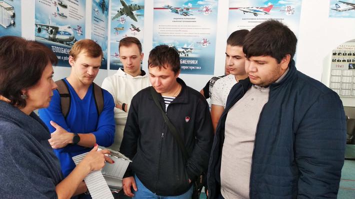 АО ПКО «Теплообменник» посетили студенты Нижегородского государственного технического университета и