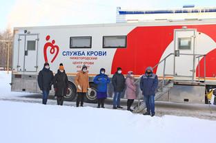 На АО ПКО «Теплообменник» прошел День донора