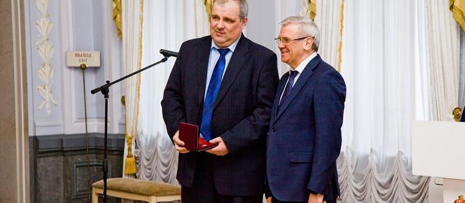 Алексею Брежневу присвоено звание «Заслуженный машиностроитель Российской Федерации»