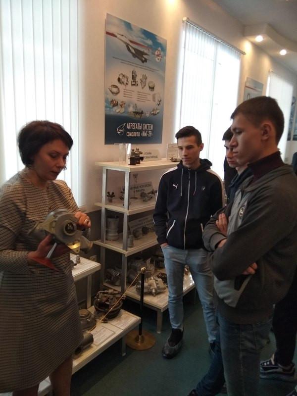 Учащиеся Нижегородского индустриального колледжа посетили АО ПКО «Теплообменник»