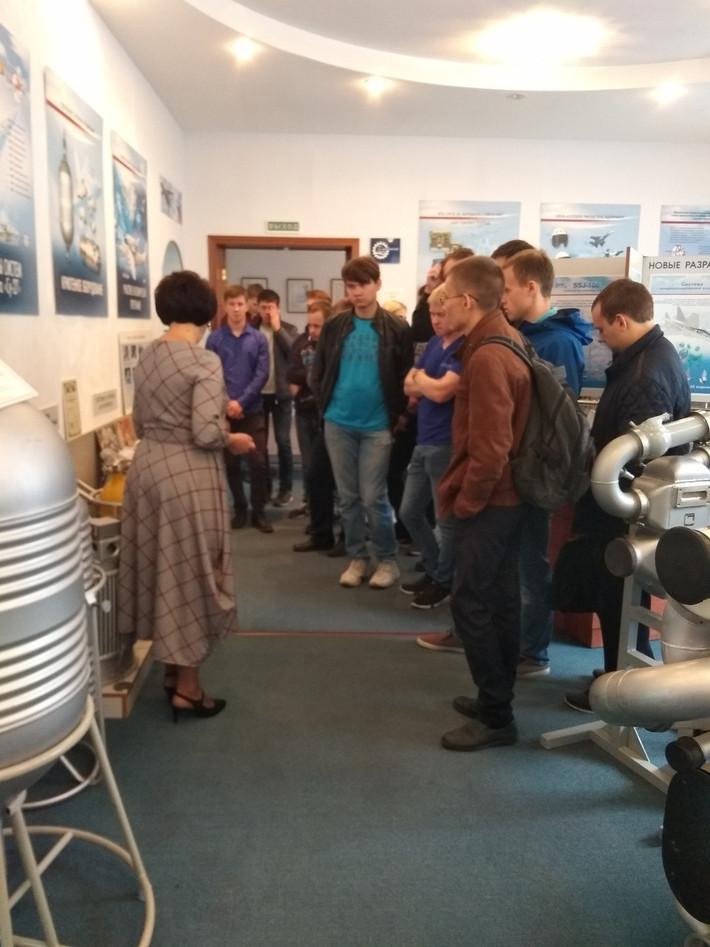 АО ПКО «Теплообменник» посетили студенты Нижегородского технического университета