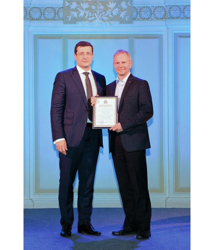 Благодарностью Губернатора Нижегородской области отмечен Александр Стручков