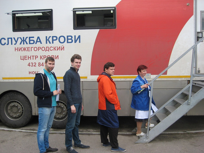 На ПАО ПКО «Теплообменник» прошел День донора