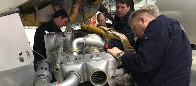 ГСС приступил к испытаниям в полёте первой крупной системы для проекта SSJ NEW