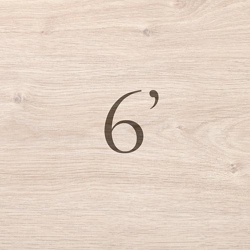 Oak Classic 6'