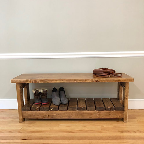 New England Shoe Bench
