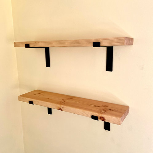 Douglas Fir Farmhouse Shelves (2 per order)