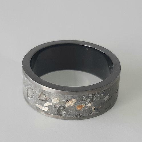 """Terrazzo"" ring"