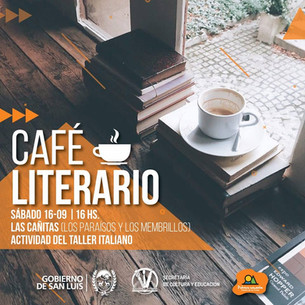 Cafe literario de lengua italiana