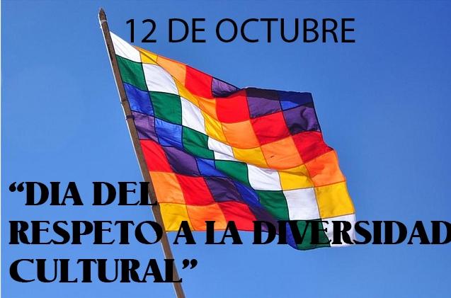 Durante muchos años, el 12 de octubre se festejaba como el día de la raza o del descubrimiento de América.  Actualmente en Argentina, en este día se busca promover la reflexión histórico e instalar el diálogo entre culturas sobre el derecho de los pueblos originarios. Por eso hoy celebramos el Día de la Diversidad Cultural Americana.