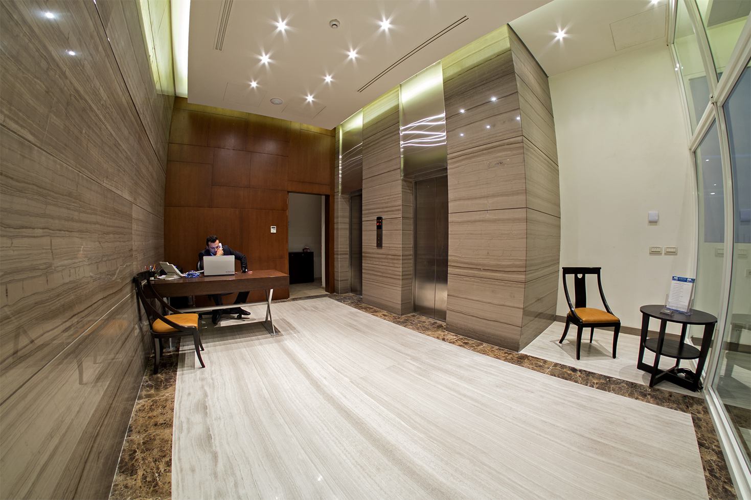Kantari Suites Reception Area