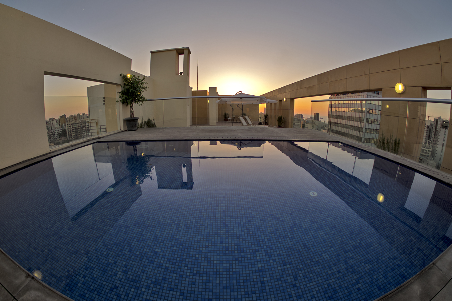Kantari Suites Rooftop Pool
