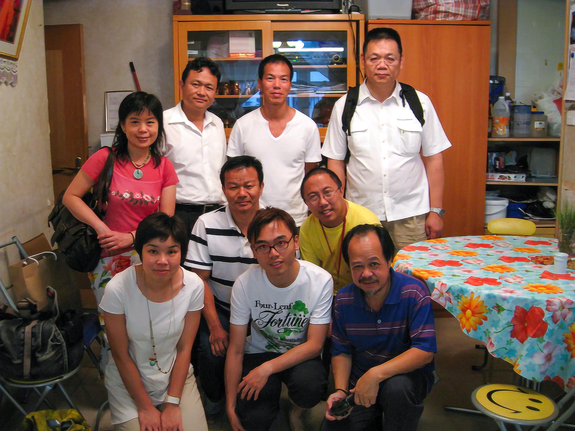 2008_上海街艺术空间和社区人仕交流 1 