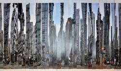 Flourishing city prosperity (sketch)