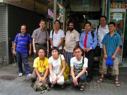 2008_上海街艺术空间和社区人仕交流 2