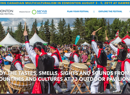 Being a Food Judge at the Edmonton Heritage Festival 2019