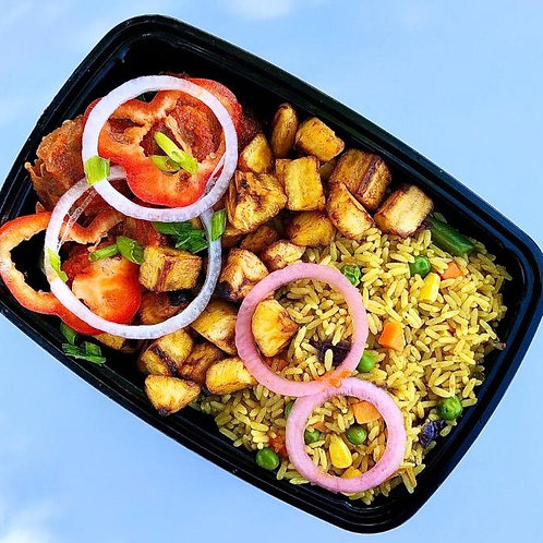 The Buka Platter (Fried Rice)