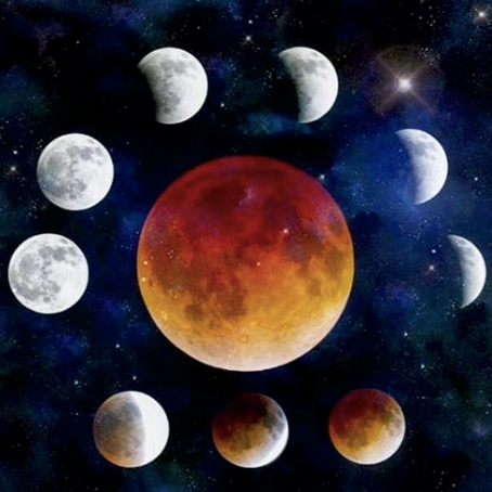 Lunar Eclipse in Leo