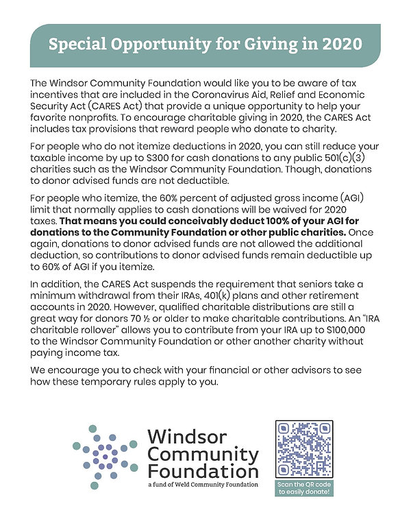 Cares Act info Windsor CF ad IV.jpg