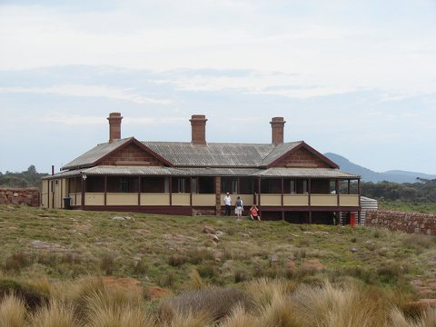 The family home Gabo Island