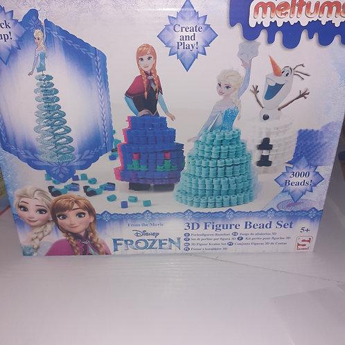 Frozen 3D Figuren Basteln