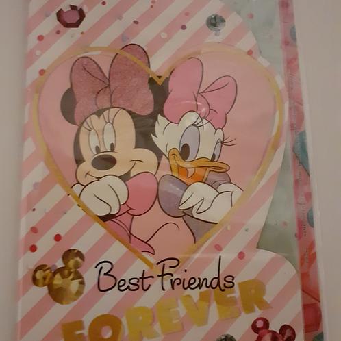 Minnie Grußkarte Best Friends