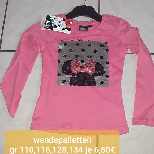 Minnie mouse wendepailetten