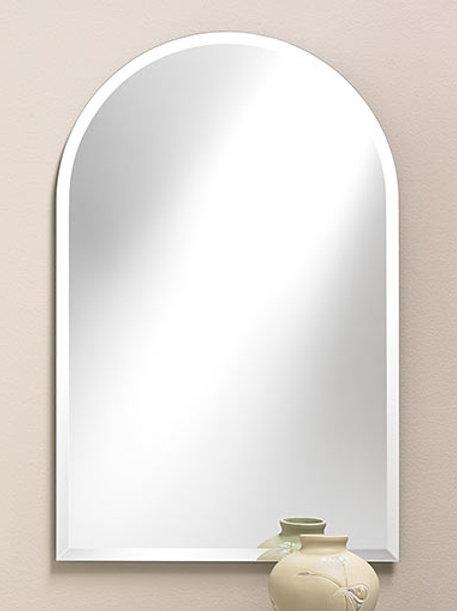 Arch-Top Frameless Bevel Mirror