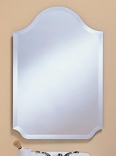 Arch Frameless Bevel Mirror