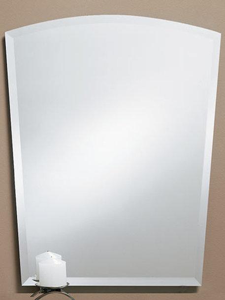 Arch Frameless Bevel Mirror